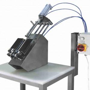 Автоматическое устройство для выдавливания кости из голени и бедра курицы
