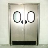 Двери из нержавеющей стали1