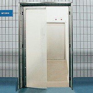 Двери нержавеющие распашные из армированного ПВХ WT-1, WT-21