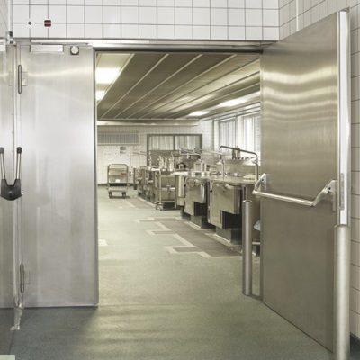 Двери холодильные и морозильные из нержавеющей стали