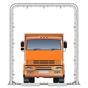 Дезбарьер. Рамочная мойка для дезинфекции автотранспорта.