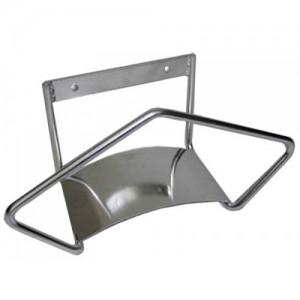 Держатель шланга настенный (нержавеющая сталь)