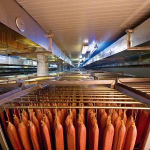 Камеры для климатической сушки, созревания и дозревания мясных продуктов и колбас