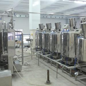 Вакуумная линия производства кетчупа