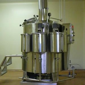 Линия производства препарата искусственной кожи