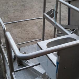 Лифт (помост) подъемно-опускной пневматический