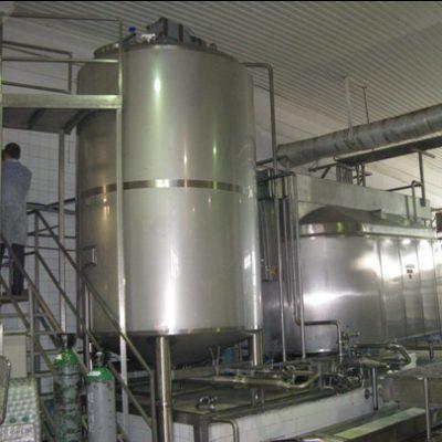 Оборудование для транспортировки, приемки и хранения молока