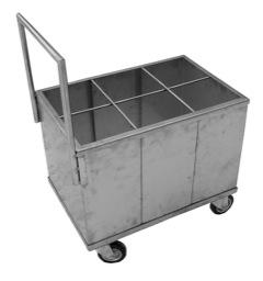 Тележка для транспортировки колбасных профилей, шомполов