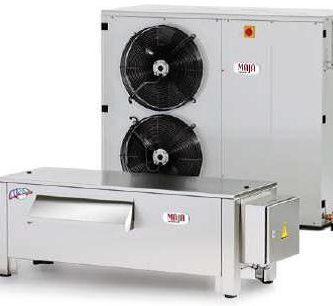 Льдогенератор MAJA RVH 6000 L с отдельным холодильным агрегатом L6000 (Германия)