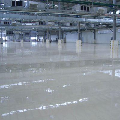 Напольные покрытия для промышленных предприятий