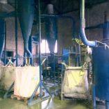Линия водно-воздушной очистки РЕ