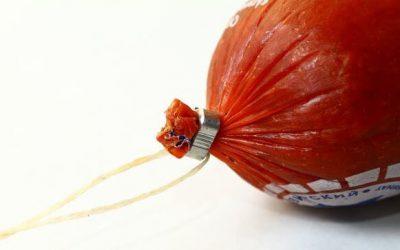 Значение клипс для упаковки колбасных изделий