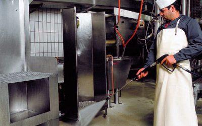 Очистка оборудования пищевой промышленности — Сода-бластинг (мягкий бластинг)