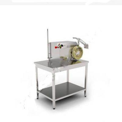 Машина для измерения длины очищенной черевы