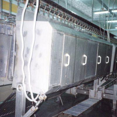 Машина для удаления пера типов US-2-32 US-2-40 US-3-60